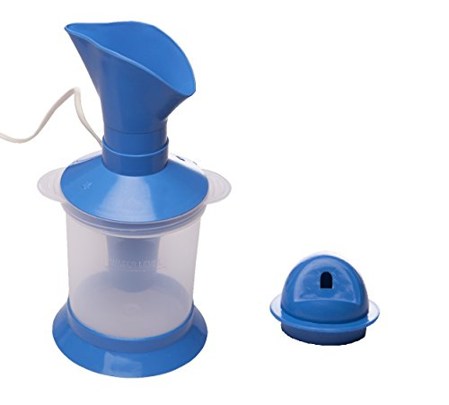 JSB HF104 Compact Vaporizer Steamer Inhaler with Nasal Steamer and Room Steamer attachments  available at amazon for Rs.249