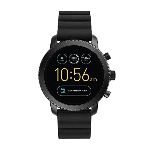 Foto Fossil Q Explorist Gen 3 Smartwatch da Uomo, Cassa in Acciaio Nero e...