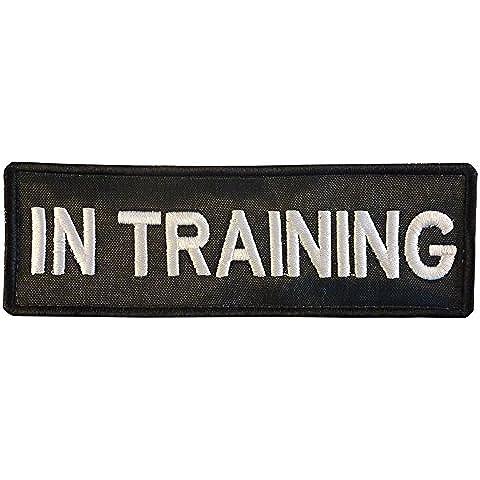 K9 Harness IN TRAINING dog K-9 Nylon Velcro Toppa Patch