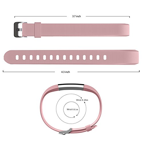 MoreFit Slim 2 Fitness Tracker Replacement Band Smart Watch Wristband Strap With Metal Buckle Clasp Only For Slim 2 No Tracker