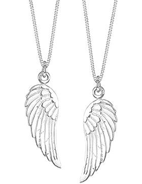 Elli Damen- Partnerkette Flügel 925 Sterling Silber 905550911
