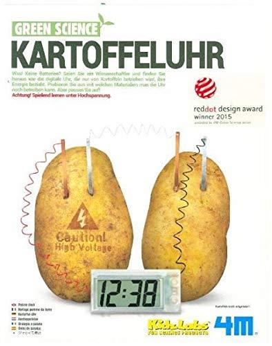 4m 68629Sento-Juguete para el Aprendizaje, una Reloj Digital, su energía Refiere Solo de Kar