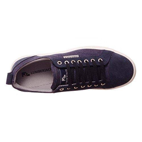 Lumberjack Wolf, Sneakers basses homme Navy blue
