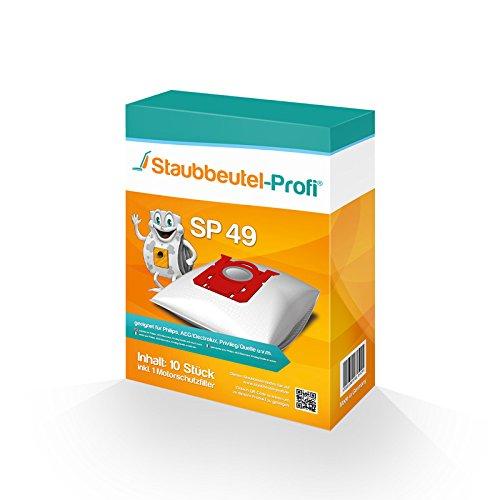 10 Staubsaugerbeutel Staubbeutel-Profi kompatibel mit Swirl PH86 geeignet für Philips HR 8500-8599 Serie - Mobilo Plus -