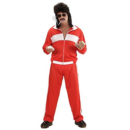 Widmann 73382 - Erwachsenenkostüm 80er Jahre Jogginganzug, M (80er Jahre Anzug Kostüm)