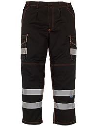 Mens Yoko Knee Pad Pockets Durable Cargo Trousers