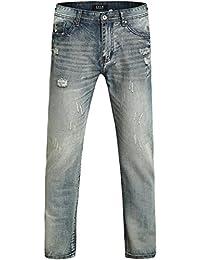 SSLR Homme Relaxed Straight Leg Jean
