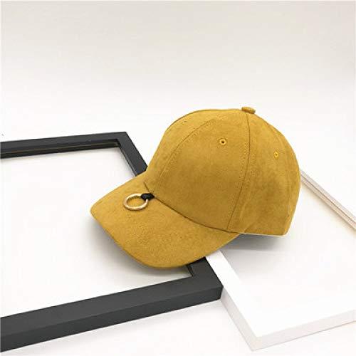 Kostüm Das Kobold Männlich - Baseballmütze Buchstabenstickerei gebogen Sonnenhut männlich Sport Entenzunge Sonnenhut Ingwer einstellbar