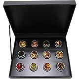 Hallingers 12er Tee-Geschenk-Set mit Tee aus aller Welt (120g) - Klassisches Tee-Set (Design-Karton) - zu Passt immer Vergleich