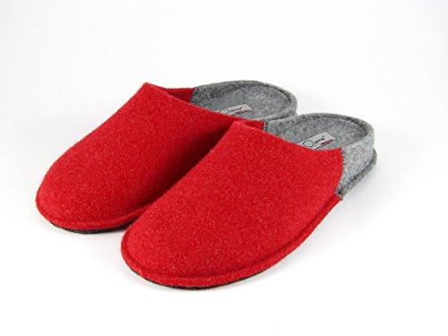 pantofole-da-donna-invernali-bicolore-rosso-taglia-42