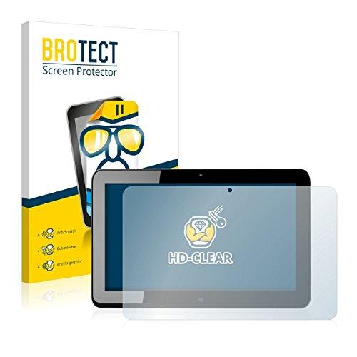 2X BROTECT HD Clear Bildschirmschutz Schutzfolie für HP Elite x2 1011 G1 (kristallklar, extrem Kratzfest, schmutzabweisend)