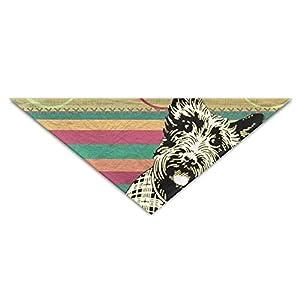 JMAKI Collier Chien Bandanas,Eco-Friendly Cute Scottish House Triangle Pet Scarf Dog Bandana Pet Collars,Soft Head Scarfs Accessories Pet Bib Pet Supplies
