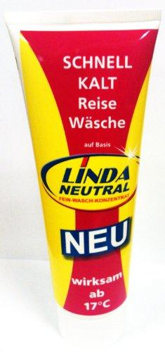 Linda Waschmittel GmbH & Co.KG Linda Neutral Schnell Kalt Reise Wäsche 250ml Tube