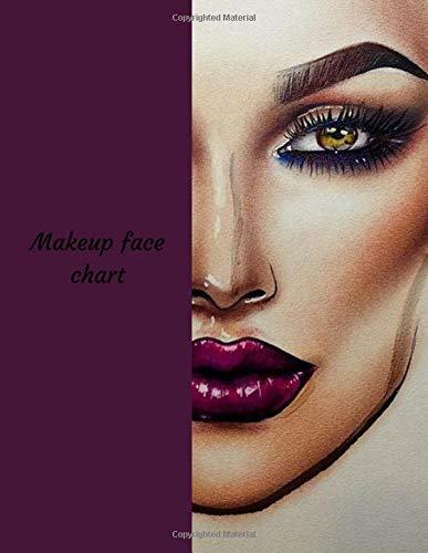 Makeup Face Chart: A Blank Makeup Portfolio Book por La Belle Femme