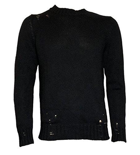 Diesel -  maglione  - uomo nero s