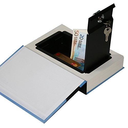 Als Buchsafe getarnte Geldkassette mit echten Papierseiten - 5