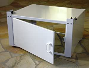 szagato meuble sous machine laver ch ssis 60 x 50 x 30 cm 150 kg mod le 2 avec porte. Black Bedroom Furniture Sets. Home Design Ideas