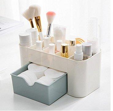 COFCO Cosmétique maquillage affaire outil cosmétique organisateur bureau affichage étanche et durable grand volume maquillage tiroir type boîte de rangement pour pinceau stylo organisateur de bijoux