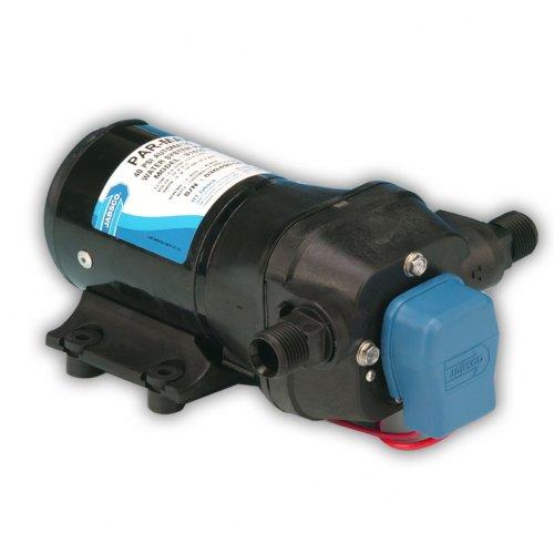 Jabsco Toilettenpumpe 31600-0094Marine ParMax 3High Druck Wasser System Pumpe (3.5-gpm, 40-psi, 24Volt, 7-amp, bis zu 3Steckdosen) -