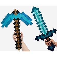 Set de Espada y Pico Minecraft Diamond Edition
