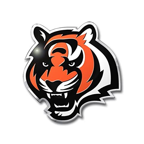NFL Cincinnati Bengals Die Cut Color Automobile Emblem
