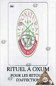 Les rituels Macumba : rituel à Oxum pour les menages en danger et retour d'affection