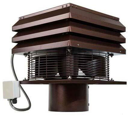 Aspirador Extractor de Humos para chimeneas barbacoas Gemi Elettronica modelo profesional redondo...