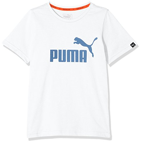 Puma Kinder ESS No.1 Tee Shirt, White, 164
