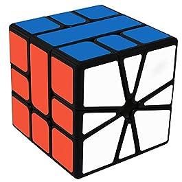 Maomaoyu Square 1 Cube, velocità Square One Cube, Cubo Magico, Regali di Natale per Adulti e Bambin