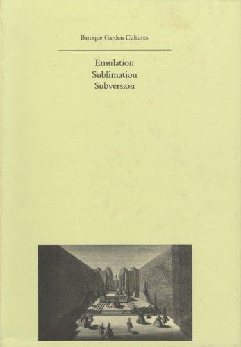 Baroque Garden Cultures (History of Landscape Architecture Colloquium)