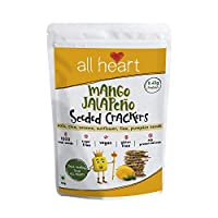ALL HEART Mango Jalapēno Seeded Crackers - 40 gm