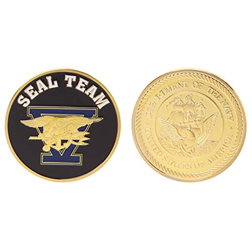 Tshopm commemorative coin seal team united states navy collection souvenir arts gifts
