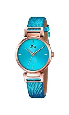 Lotus 18229/2 - Reloj de pulsera Mujer, Cuero, color Azul