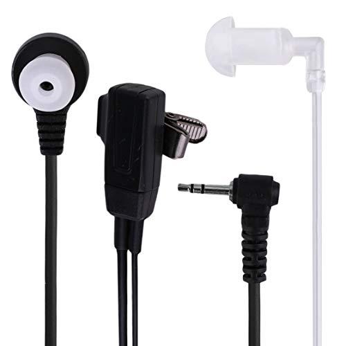 LouiseEvel215 1 Pin Covert Acoustic Tube Hörer-Headset für Motorola Talkabout 2 Funkgerät Funksprechgerät GP88 GP300 GP308 -