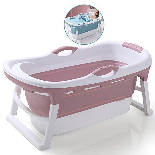 JQXB Bañera Plegable, bañera portátil, bañera Grande, Piscina para niños, Familiares para niños...