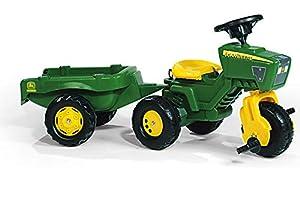 rolly toys 052769 - Triciclo en Forma de Tractor John Deere con Sonido Importado de Alemania