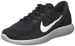 Nike Men's Lunarglide 9 Competition Running Shoes, Black (Blackdark Greywolf Greywhite), 7 Uk 41 Eu