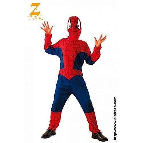 Gen 13 Aptafêtes-Spinnen-Kostüm für Jungen-7-9Jahre / Größe M (cs801020M)