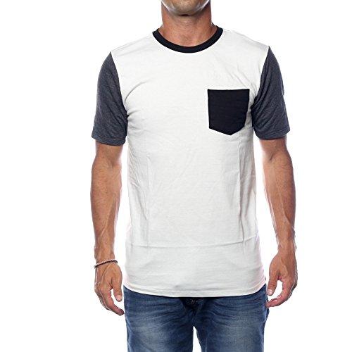 Hurley Herren T-Shirt Color Block Pocket T-Shirt (Cachet-block)