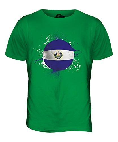 CandyMix El Salvador Fußball Herren T Shirt Grün