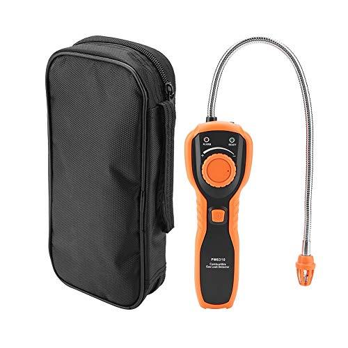 Semme Detector de Gas, Detector de Fugas de Gas Combustible portátil PEAKMETER PM6310 de Alta precisión