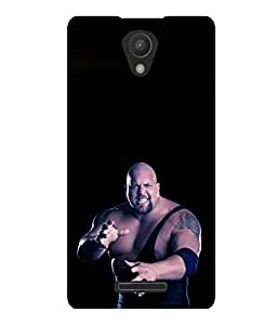 printtech WWE Big Show Back Case Cover for Xiaomi Redmi 3S::Xiaomi Redmi 3::Xiaomi Redmi 3 (3rd Gen)