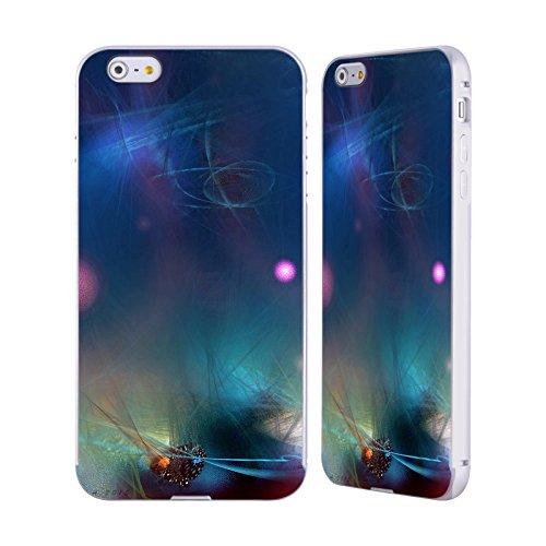 Ufficiale Runa Nuovo Rococo Vivido Argento Cover Contorno con Bumper in Alluminio per Apple iPhone 5 / 5s / SE Sfera Rosa