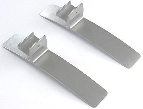 Standfüße für Infrarotheizung Standfuß Infrarotheizkörper Universal für 20mm Rahmen