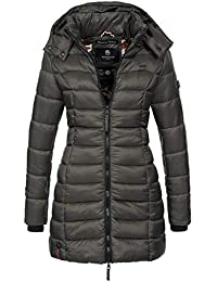 Damen Winter Jacke Damenjacke Parka Mantel Steppjacke Wintermantel AF-1702B