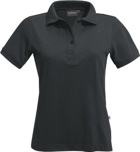 "HAKRO HAKRO Damen Polo-Shirt ""Classic"" - 110 - anthrazit - Größe: XS"