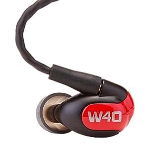 Westone W40 Écouteurs intra-auriculaires isolants avec quatre transducteurs à armature équilibrée incluant micro et télécommande iPhone