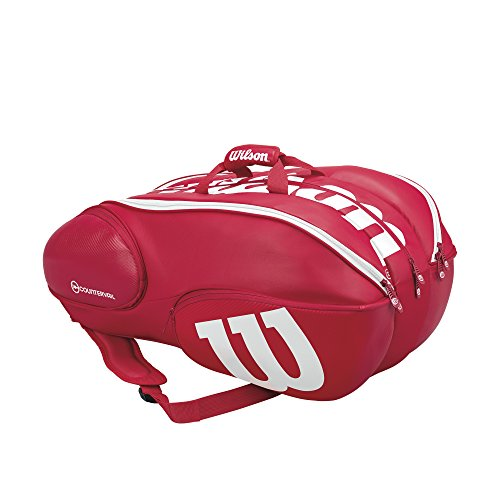 Wilson VANCOUVER 15 PACK RDWH Gr. 15 PACK fb. rot Art. - Tasche Tennis Wilson