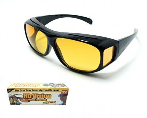 NACHT FAHREN ÜBER GLÄSER ANTI GLARE COMPUTER GLÄSER Passend für Gläser für Nachtsicht Anti Glare Brillen zum Angeln, Radfahren und Fahren