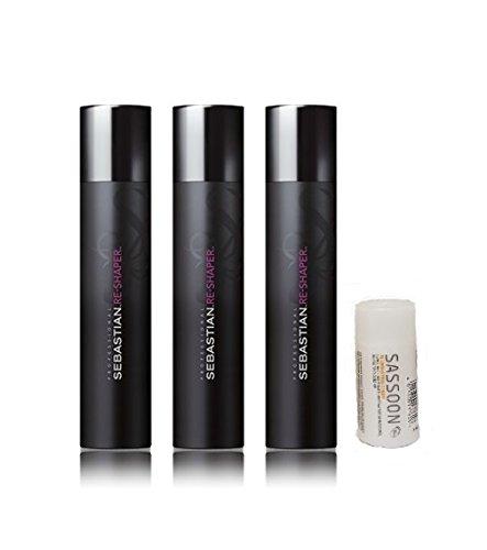 Sebastian 3 er Pack Sebastian Re-Shaper Haarspray 400 ml + Sassoon Illuminating Shampoo 50 ml
